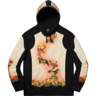 シュプリーム(Supreme)のLサイズ新品未使用 Floral Print Hooded Sweatshirt(パーカー)