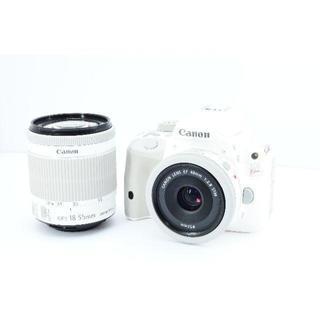 キヤノン(Canon)の✨人気✨CANON EOS Kiss X7 Wレンズキット ✨付属完備✨(デジタル一眼)