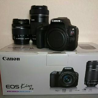 キヤノン(Canon)のCanon EOSKissX9 ダブルズームキット(デジタル一眼)