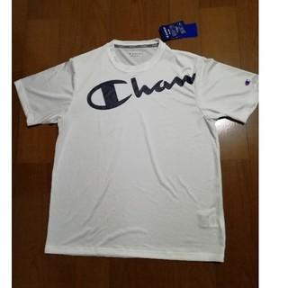 チャンピオン(Champion)のChampion19SS 速乾VAPOR ビッグロゴプリントT 白L 未使用タグ(Tシャツ/カットソー(半袖/袖なし))
