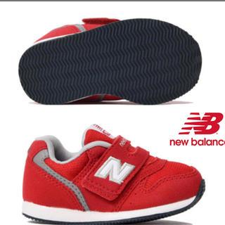 ニューバランス(New Balance)のニューバランス iv996 レッド 赤 15.5センチ(スニーカー)