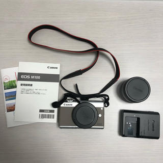 キヤノン(Canon)のCanon EOS M100 (ミラーレス一眼)