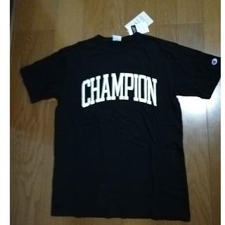 チャンピオン(Champion)のChampion19SS 定番ロゴプリントT 黒L 未使用タグ付き(Tシャツ/カットソー(半袖/袖なし))