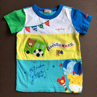 ミキハウス(mikihouse)のミキハウス  半袖Tシャツ  100cm(Tシャツ/カットソー)