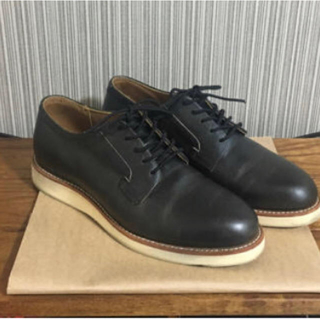 レッドウィング(REDWING)のredwing postman oxford 3103 charcoal 9.5(ブーツ)