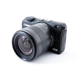 キヤノン(Canon)の★タッチパネルで簡単操作♪WiFi搭載★キャノン EOS M2 ブラック(ミラーレス一眼)
