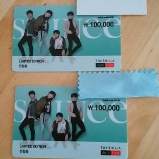 韓国 免税店 カード(K-POP/アジア)