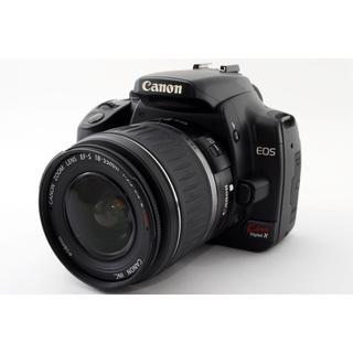 キヤノン(Canon)の★スマホに送れる★ Canon Kiss Digitl X レンズキット(デジタル一眼)