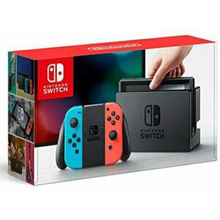 ニンテンドースイッチ(Nintendo Switch)の新品 6台 NINTENDO Switch ネオンブルー ネオンレッド(家庭用ゲーム本体)