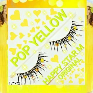 ❤★Pop Yellow ★partyまつげ ポップ イエロー★送無料●即買不可(つけまつげ)