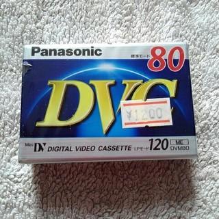 パナソニック DVC 80分(ビデオカメラ)