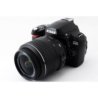 ニコン(Nikon)の★Wi-Fi対応!コンパクトモデル★ニコン D40レンズキット(デジタル一眼)