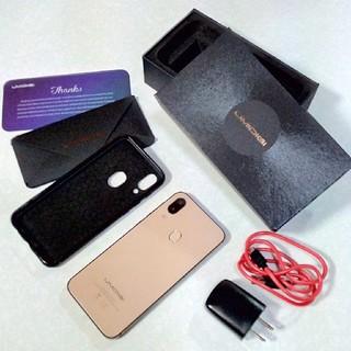 アンドロイド(ANDROID)のUMIDIGI A3 Pro ゴールド 美品(スマートフォン本体)