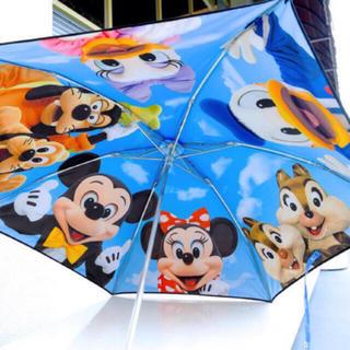 ディズニー(Disney)の再販♡ 新品 実写 日傘 折り畳み ディズニーリゾート(傘)