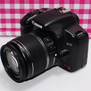 キヤノン(Canon)の❤Wi-Fi対応❤Canon Kiss x2 レンズキット(デジタル一眼)