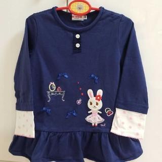 ミキハウス(mikihouse)のミキハウスの可愛いチュニック♪ 100(Tシャツ/カットソー)