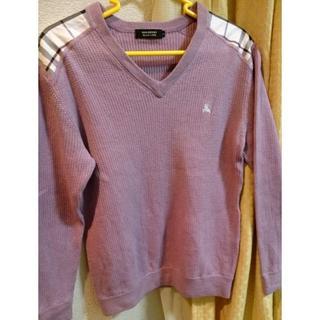 バーバリー(BURBERRY)のバーバリーberberry ブラックレーベル  セーター ニット サイズ表記3(ニット/セーター)
