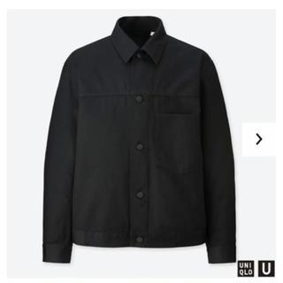 ユニクロ(UNIQLO)のユニクロユー デニムジャケット メンズ Sサイズ(Gジャン/デニムジャケット)