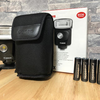 キヤノン(Canon)の[美品]キャノンスピードライト320ex(ストロボ/照明)