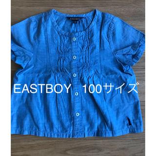 イーストボーイ(EASTBOY)のEASTBOY  涼しいシャツ 100サイズ(ブラウス)