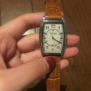 サーカ(CIRCA)のCIRCA サーカ 腕時計 TIME PIECE 男女兼用 ライトブラウン(腕時計)