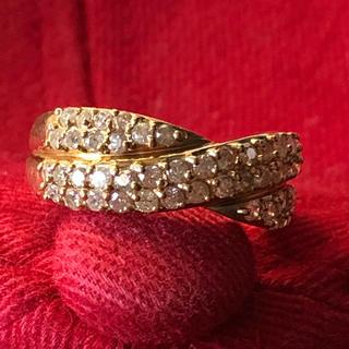 K18ダイヤモンド指輪(リング(指輪))