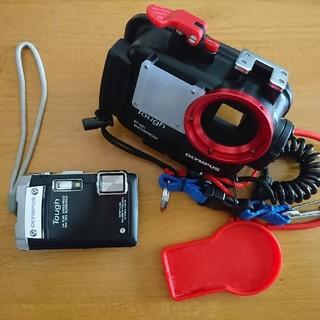 オリンパス(OLYMPUS)のオリンパス防水カメラと専用ハウジングのセット(コンパクトデジタルカメラ)