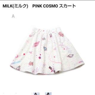 ミルク(MILK)のMILK PINKCOSMO スカート(ミニスカート)