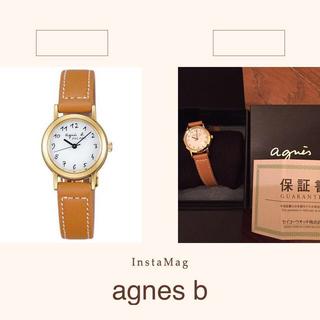 アニエスベー(agnes b.)のまーちゃん様専用 コートとの二点購入(腕時計)