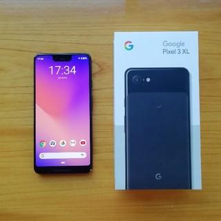 アンドロイド(ANDROID)のPixel 3 xl simフリー 本体 Google(スマートフォン本体)