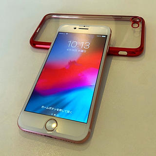 アイフォーン(iPhone)のiPhone 7 ローズゴールド シムフリー 128GB(スマートフォン本体)