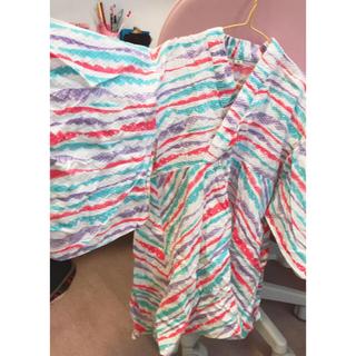 エフオーキッズ(F.O.KIDS)のドレス 浴衣 子供M Ocean &ground(甚平/浴衣)