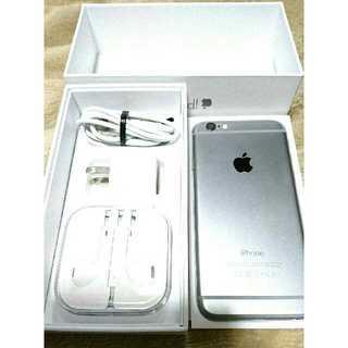 Apple SoftBank iPhone6 MG472J/A スペースグレイ(スマートフォン本体)