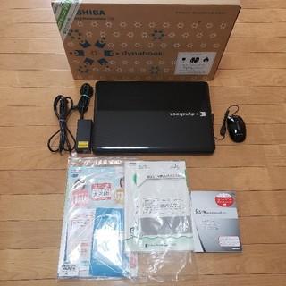 トウシバ(東芝)の☆新品SSDでさくさく起動☆人気の東芝ノートパソコンです♪(ノートPC)