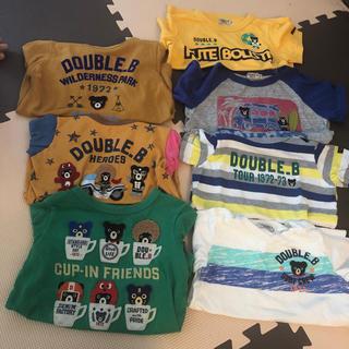 ダブルビー(DOUBLE.B)のダブルb  ロンT 半袖セット(Tシャツ/カットソー)