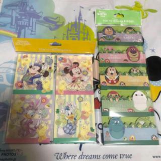 Disney - ディズニーリゾート限定 ディズニー・イースター メモ 2点