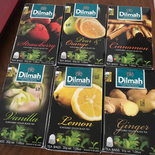 Dilmah 紅茶 フレーバーティー  6個セット ディルマ  スリランカ(茶)