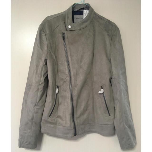 ZARA(ザラ)のZARA MAN ライダースジャケット L メンズのジャケット/アウター(ライダースジャケット)の商品写真