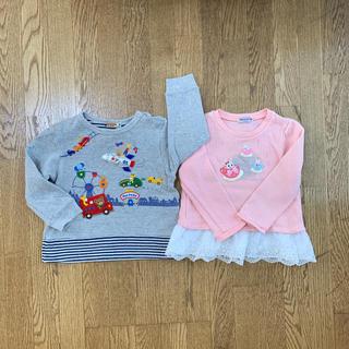 ミキハウス(mikihouse)のミキハウス 90 2枚セット(Tシャツ/カットソー)