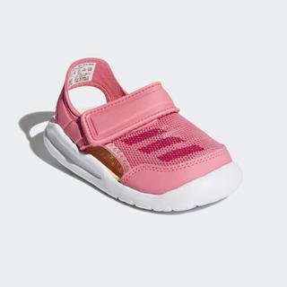 アディダス(adidas)の12cm adidas サンダル スニーカー ピンク(サンダル)