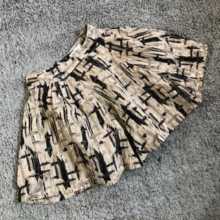 フォーエバートゥエンティーワン(FOREVER 21)の新品!▪️美ライン ツイードバルーンスカート ■白黒Sフォーエバー21(ミニスカート)