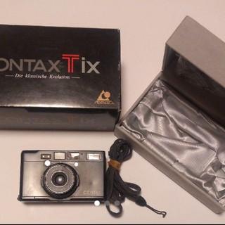 CONTAX Tix ブラック 動作確認済