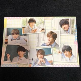 ジャニーズジュニア(ジャニーズJr.)の7MEN侍 カレンダーカード(アイドルグッズ)