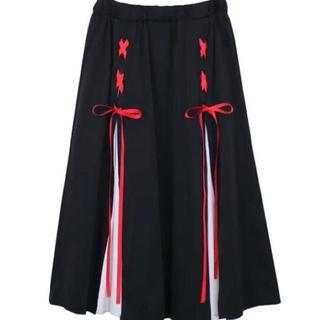 【大人気】プリーツ スカート ヨウジヤマモト コムデギャルソン ZARA 系(ひざ丈スカート)