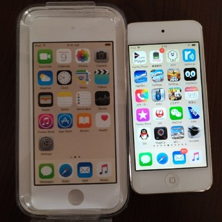 アップル(Apple)のApple アップル iPod touch MKHC2J/A 64GB 第6世代(スマートフォン本体)