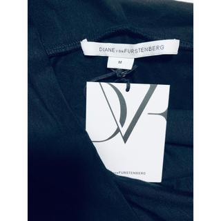 ダイアンフォンファステンバーグ(DIANE von FURSTENBERG)の新品タグ付き ダイアン カシュクール調トップス(シャツ/ブラウス(長袖/七分))