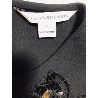 ダイアンフォンファステンバーグ(DIANE von FURSTENBERG)の美品  ダイアン ブラックトップス(シャツ/ブラウス(半袖/袖なし))