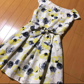 ロペピクニック★花柄ワンピースドレス
