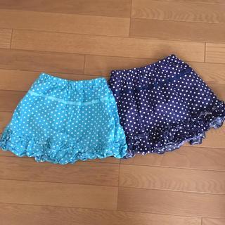 ジーユー(GU)の水玉スカート まとめ売り(スカート)