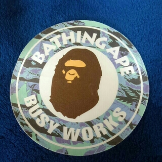 A BATHING APE - A BATHING APE / BUSY WORKS ステッカー